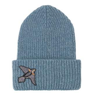 Wintermuts. Vogel. Blauw.
