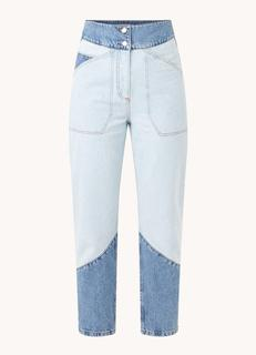 Apolo high waist straight fit cropped mom jeans