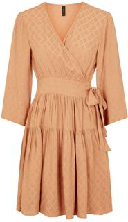 Sepi 3/4 wrap dress sandstone