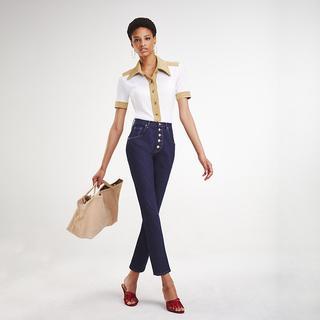 Zendaya skinny fit enkellange jeans