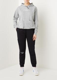 Swoosh trainings hoodie met opgestikte zakken