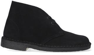 Zwarte Veterschoen Desert Boot Dames