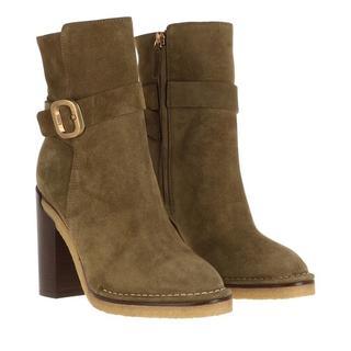 'Tod''s Boots & laarzen - Block Heeled Boots in groen voor dames