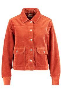 Dames Trucker Jacket Haya Bruin
