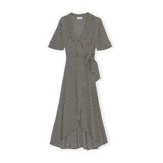 Dress Printed Crepe