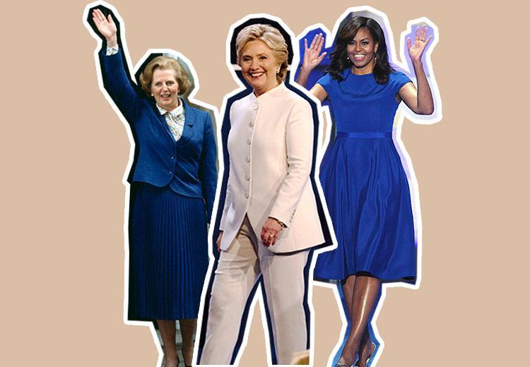 Dit is de betekenis achter de kleding van powervrouwen