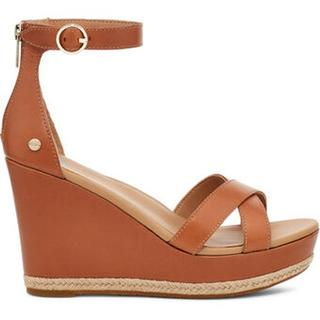 Ezrah Sandales voor Dames in Tan Leather