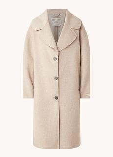 Mantel met steekzakken