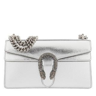 Crossbody bags - Dionysus Small Shoulder Bag Leather in silver voor dames