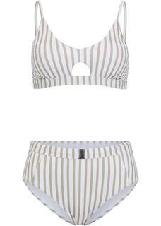 Dames bralette bikini (2-dlg. set) in bruin
