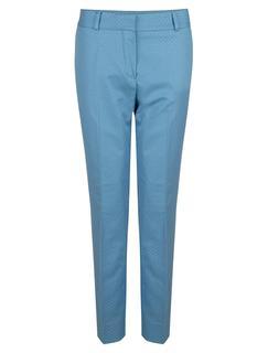 Women Broek - Tula Pants - Lichtblauw - 87% Katoen, 12% Viscose, 1%Elastaan