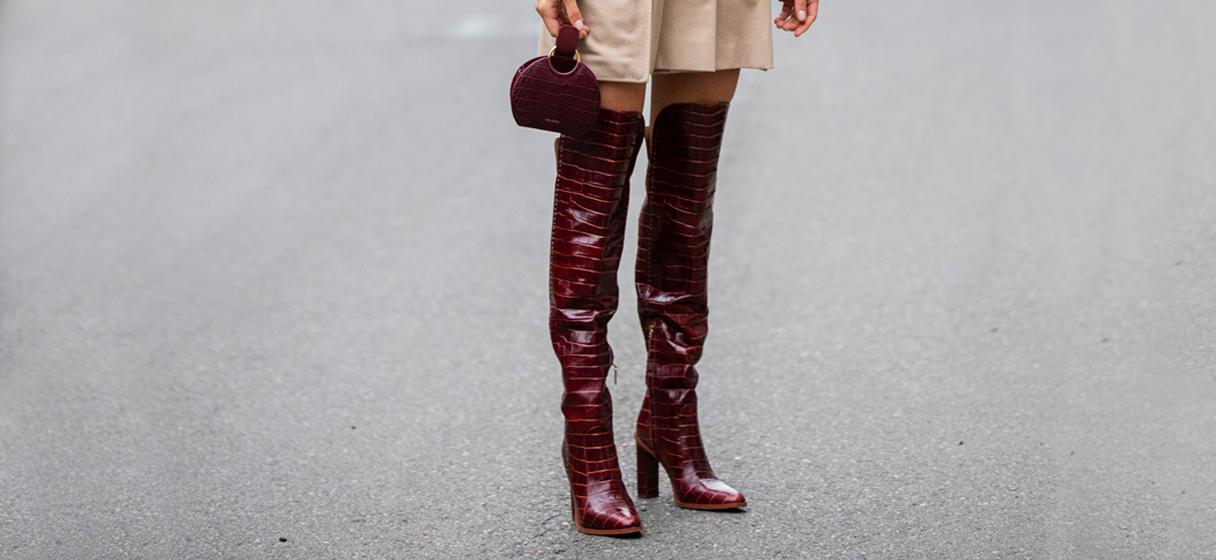 5 manieren om overknee laarzen te dragen | Fashionchick