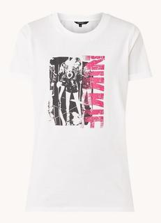 Black And White Photo T-shirt met logoprint