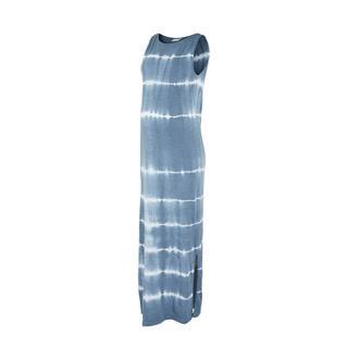 zwangerschapsjurk Malia van biologisch katoen blauw/wit