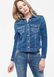 NU 20% KORTING: jeansjack LILLY