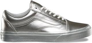 Dames Sneakers Old Skool Metallic SI - Zilver
