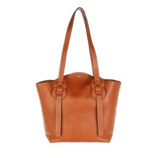 Shoppers - Medium Darryl Shopper Calfskin in cognac voor dames