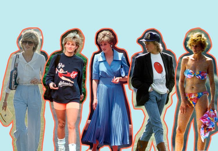 Zo kleed je je deze zomer als de iconische Prinses Diana