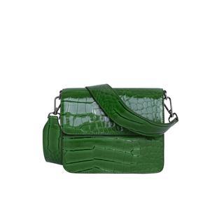 Cayman Shiny Strap Bag - Green