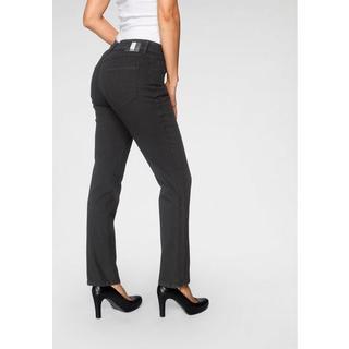 Stretch jeans Melanie Divided Slankafkledende inzet in de pijpen