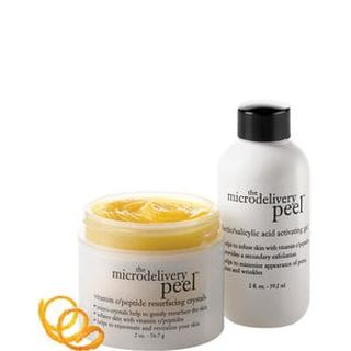 The Microdelivery Vitamin C/peptide Peel