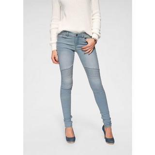 skinny fit jeans In biker-look Low Waist