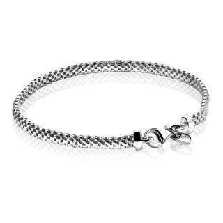 zilveren fantasie armband 18,5cm ZIA878
