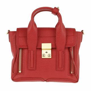 Satchels - Pashli Mini Satchel in rood voor dames