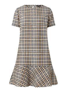 Wolona mini jurk met ruitdessin