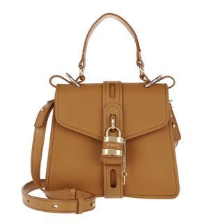Cross Body Bags - Aby Shoulder Bag Leather Autumnal Brown in bruin voor dames