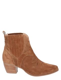 Maisy Mid Brown Suede