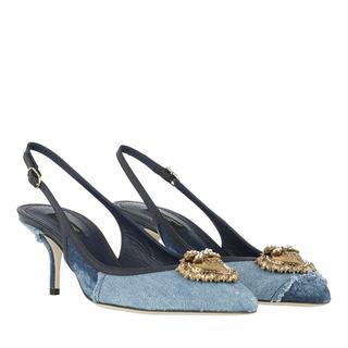 Pumps & high heels - Slingback Pumps in blauw voor dames