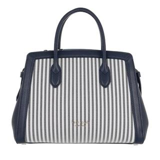 Satchels - Knott Stripe Medium Satchel in blauw voor dames