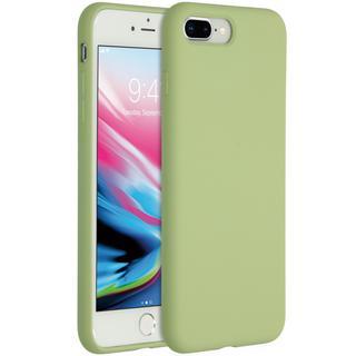 Liquid Silicone Backcover voor de iPhone 8 Plus / 7 Plus - Mint Green