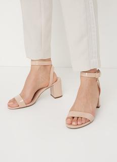 Memee sandalette met lak finish