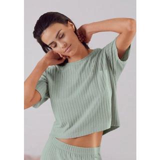 T-shirt van duurzaam ribbreisel