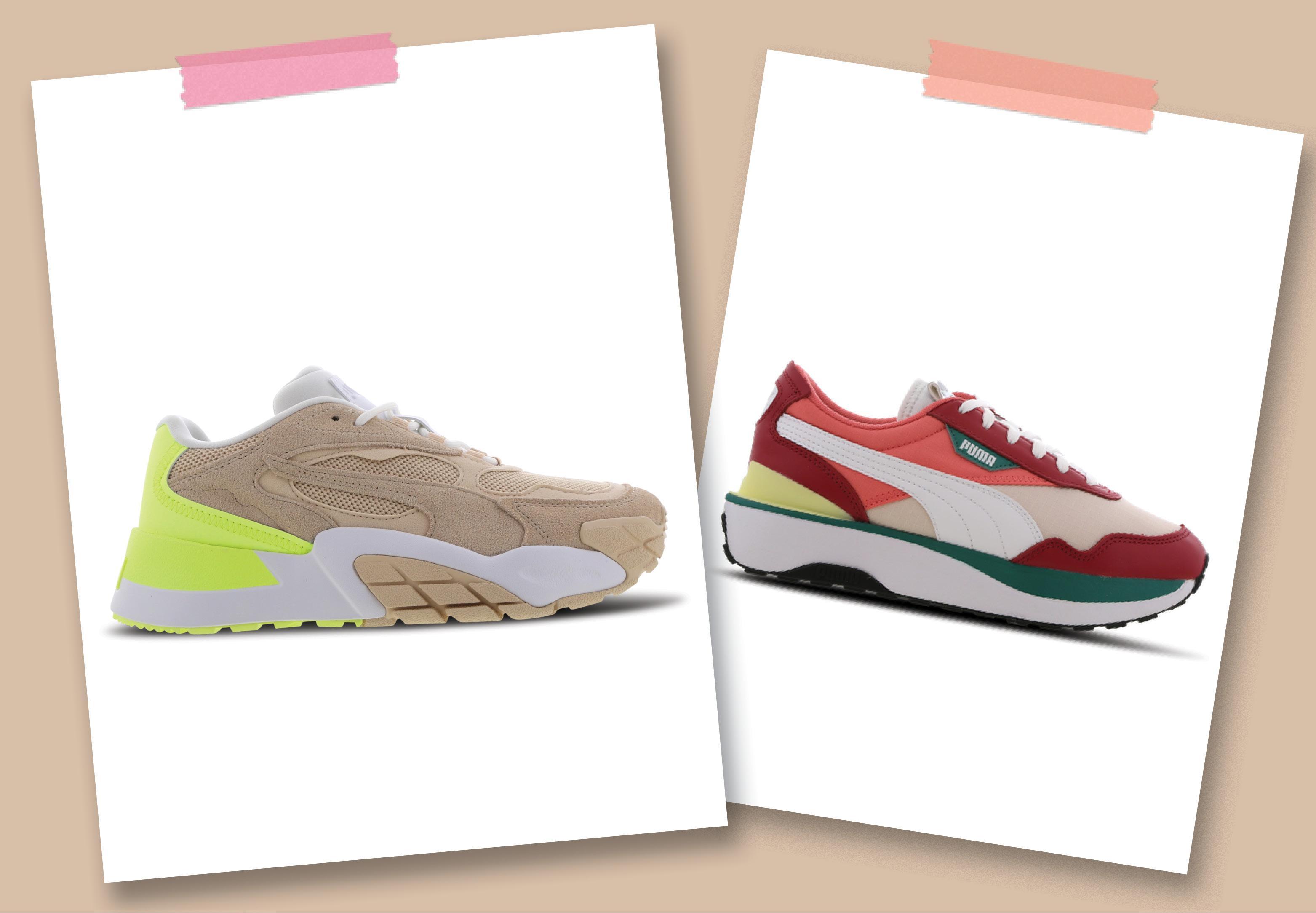 Combineer de laatste trends met een Puma-sneaker