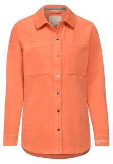 Overshirt in corduroy-stijl