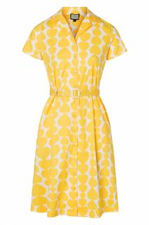 60s Sympathy For Sunshine Dress in Heartbeat Yellow