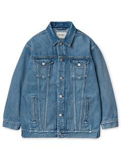 Trucker Jacket blue / light stone washed