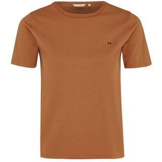 T-shirt Basic met logoborduursel