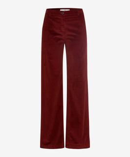 Dames Broek Style Maine rood