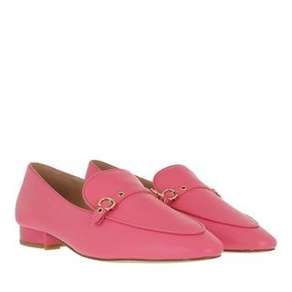 Loafers & ballerina schoenen - Isabel Leather Loafer in pink voor dames