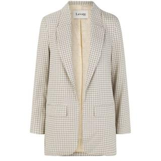 Dames Blazers in Polyester (Wit)