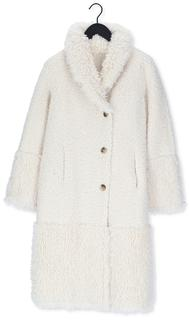 Creme Teddy Jas Long Reversible Lammy Mix Coat