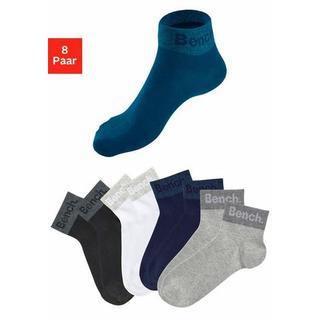 Korte sokken met ingebreid opschrift bij de boord (8 paar)