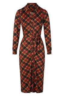 60s Rosie Chatham Midi Dress in Icon Red