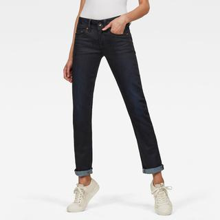 Midge Saddle Straight Jeans - Straight Fit - Taillehoogte Normaal