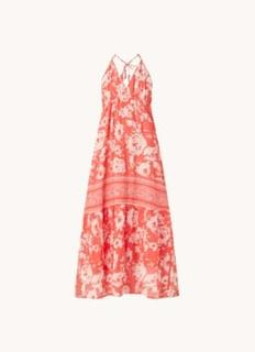 Downtown maxi jurk met bloemenprint