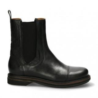 Women chelsea boot 2,5 cm nappa leather black